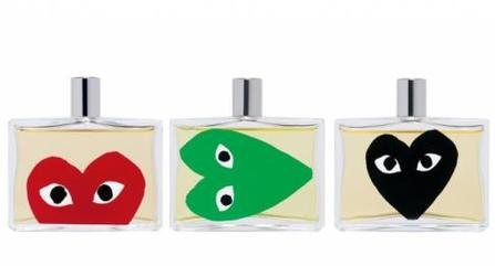 Comme des garcons play set green red black